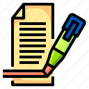 document, maker, office, paper, stationary