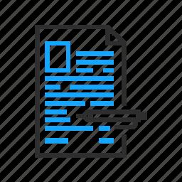 business, document, edit, office, pen icon