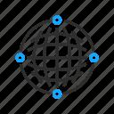 business, globe, network, office