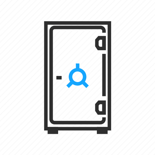 business, office, safe icon
