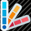 color palette, pallete, pantone icon