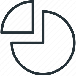 chart, office, pie, work icon