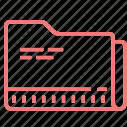 case, file, folder, office, paper icon