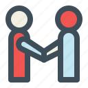 agree, agreement, deal, partner, partnership icon