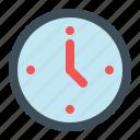 clock, date, deadline, time icon