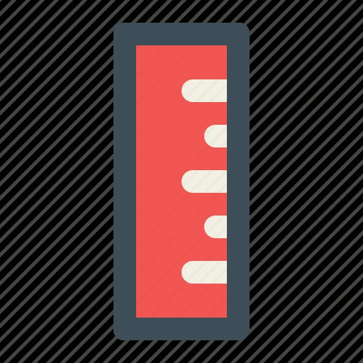 geometry, math, measure, measurement, ruler icon