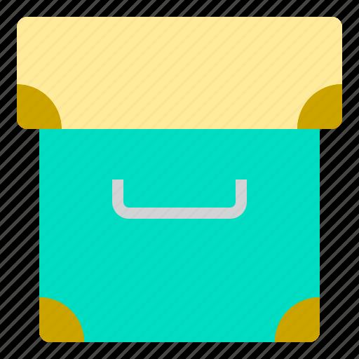 box, business, job, simply, work icon