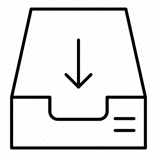 email, inbox, storage, tray icon