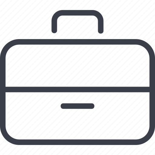 case, document, office, suitcase icon