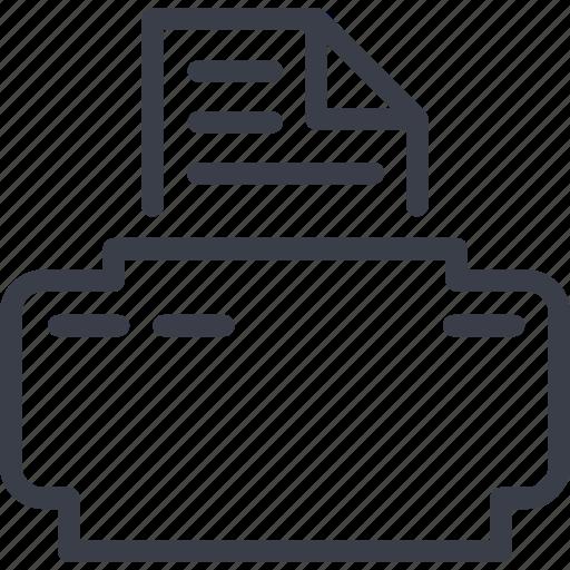 document, file, office, xerox icon