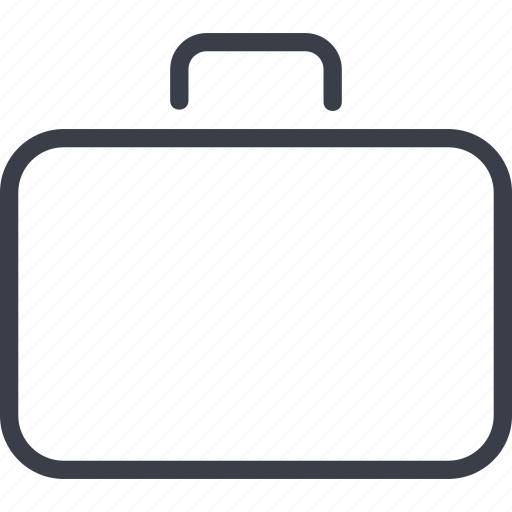 baggage, case, office, suitcase icon