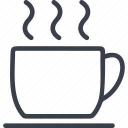 cup of coffee, drink, office icon