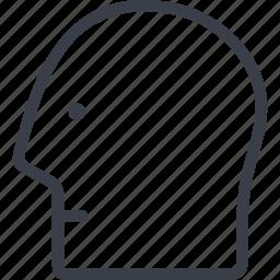 brain, head, intelligence, mind, office, organ icon