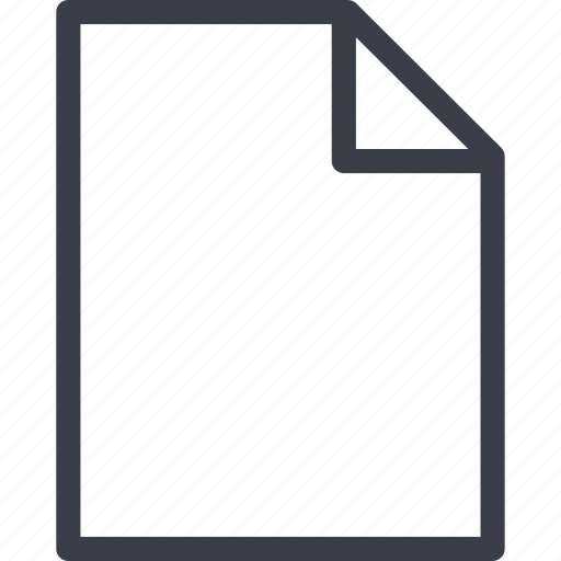 document, file, office, sheet icon