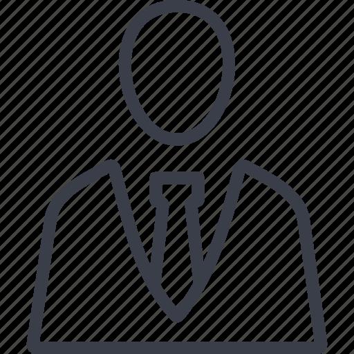 avatar, human, man, office, person icon