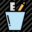 construction, design, equipment, tool, work icon