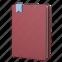 tools, office, notebook, textbook, book, bookmark, brochure