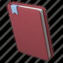 office, tools, notebook, textbook, book, bookmark, brochure