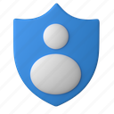 security, accounts, account, profile, privacy, shield, protection