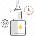 adhesive, glue, office, stationary, tool icon