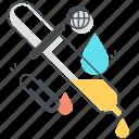 color, dropper, eye, palette, picker icon