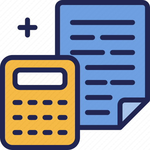 accounting, business, caculator, file, finance, office, payment icon