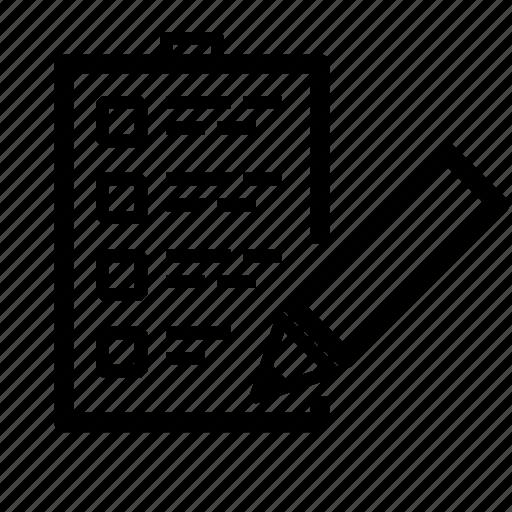 checklist, list, notes, tasklist, tasks icon