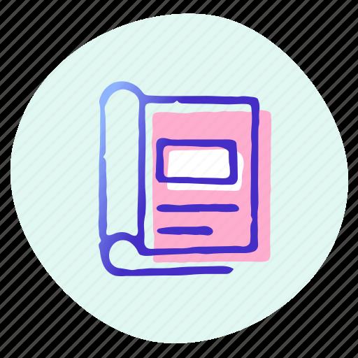 analysis, data, office, paper, report, statistics, tool icon