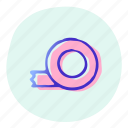 equipment, measuting, meter, tape, tool icon