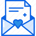 envelope, mail, message icon icon