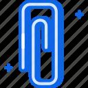 clip, paperclip, staple icon icon