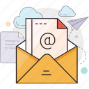 mail, email, letter, inbox