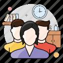 users, team, group, people