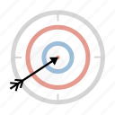 accuracy, aim, darts, game, target icon
