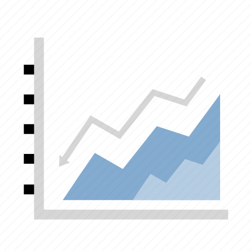 analytics, chart, diagram, finance, graph icon