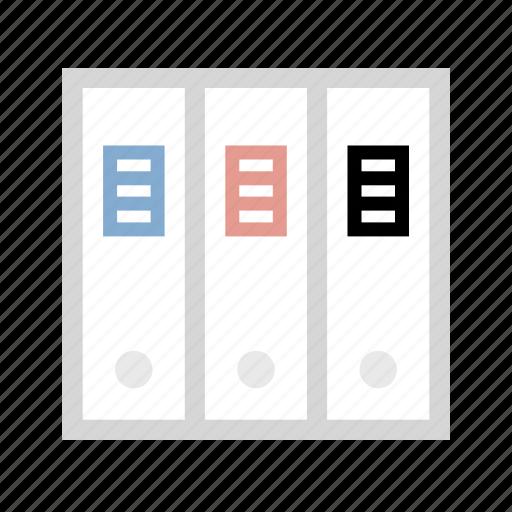binder, documents, files, folders icon