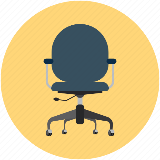 Adjustable chair, chair, desk chair, office chair icon - Download on Iconfinder