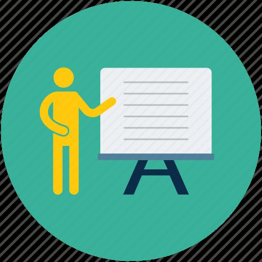 Business presentation, presentation, report, speech icon - Download on Iconfinder