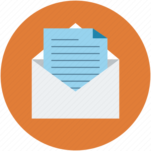 email, envelope, letter, mail, note icon