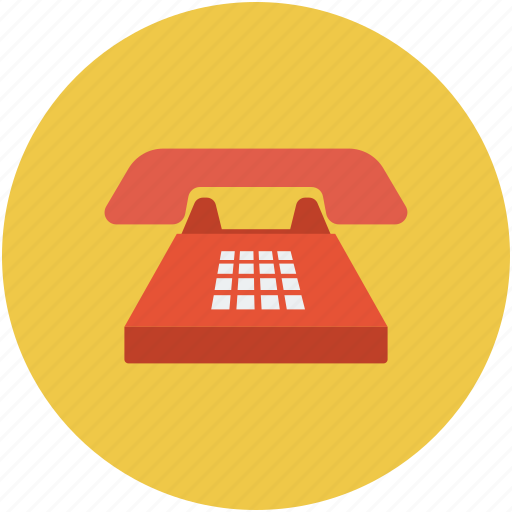 Business phone, home phone, landline, phone icon - Download on Iconfinder