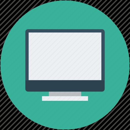 computer monitor, computer screen, monitor, screen icon