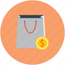 bag, purchase, shopping, shopping bag icon