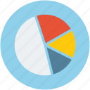 analysis, data, graph, pie chart icon