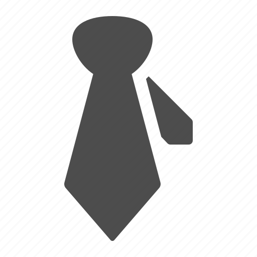 business, formal, office, suit, tie icon