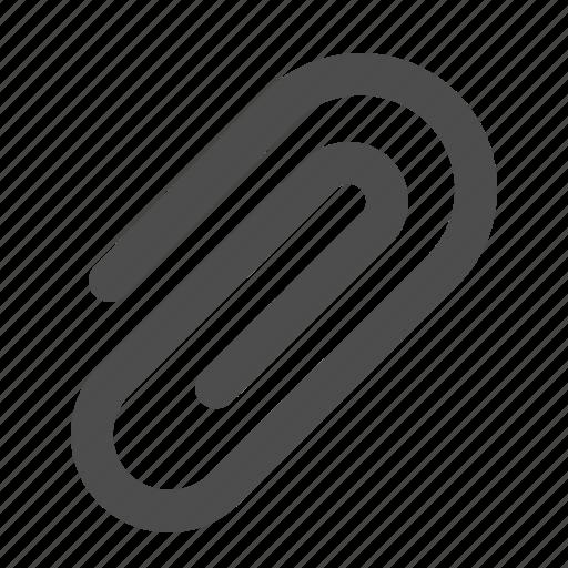 attachment, clip, internet, office, paper clip icon