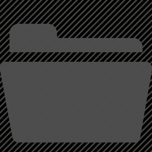 file, folder, open, opened icon