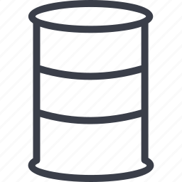 a barrel of oil, barrel, capacity, oil and gas icon