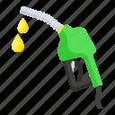 fuel nozzle, oil nozzle, oil drops, oil, fuel dispenser, nozzle