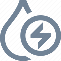 drop, ecologoy, electricity, environmental, industry, renewable energy, water icon