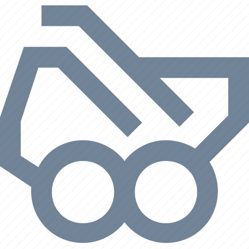 heavy, industry, machine, power, transport, transportation icon